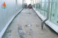 Sanacija ravnog krova prohodne terase